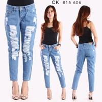 Jual Celana Boyfriend Jeans CK 815 606 ( size 27-30)