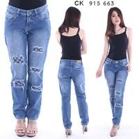 Jual celana boyfriend jeans CK 915 663 (size 27-30)