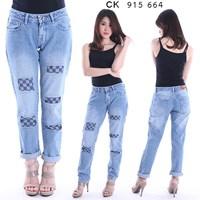Jual celana boyfriend jeans CK 915 664 (size 27-30)