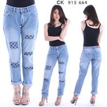 celana boyfriend jeans CK 915 664 (size 27-30)