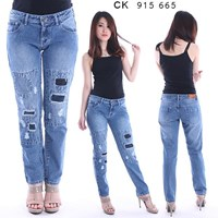 Jual Celana Jeans BoyFriend CK 915 665( Size 27-30 )