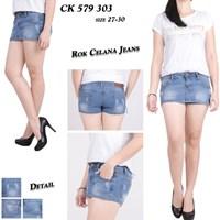 Jual Rok celana jeans CK 579 303 (size 27-30)