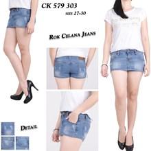Rok celana jeans CK 579 303 (size 27-30)