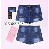 Jual Rok Celana Jeans CK 555 501 (size 27-30)