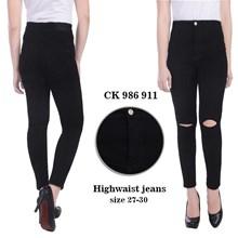 Celana Highwaist Jeans  CK 986 911 ( sizer 31-34)