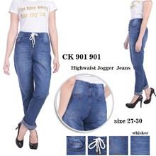 Celana Highwaist Jogger Jeans CK 901 901
