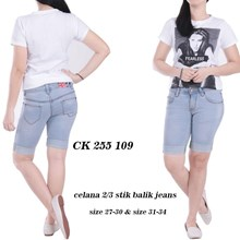 Celana crop jeans CK 255 109 (Size 31-34)