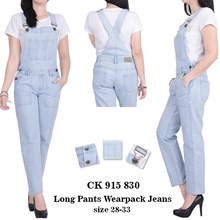 Celana long pants wearpack jeans CK 915 830 (Size 28-30)