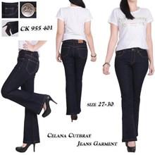 Celana cutbray jeans CK 955 401 (Size 27-30)