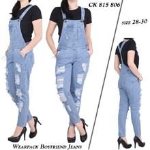Celana wearpack boyfriends CK 815 806 (Size 28-30)