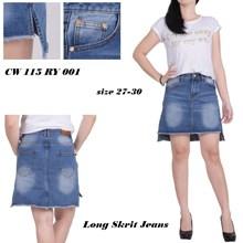 Rok long skrit jeans CY 115 RY 001