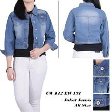 Jaket jeans CW  112 EW 131 (All size)