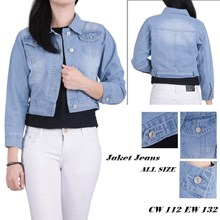 Jaket jeans CW 112 EW 132 (All size)