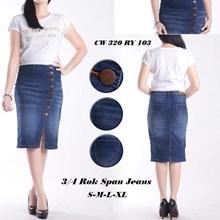 Rok span jeans CW 320 RY 103 (Size S-M-L-XL)