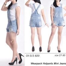Celana wearpack mini kodok jeans CK 015 820 (Size