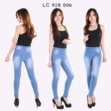 Celana legging jeans LC 928 006 (Size 31-34)