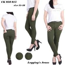 Celana legging jeans LC 928 015 (Size 31-34)