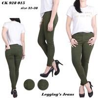 Jual Celana legging jeans LC 928 015 ( Size 35-38)