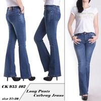 Celana Cutbray Jeans CK 955 402 ( size 27-30)