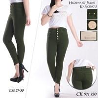 Jual Highwaist Jeans  CK 971 730 ( size 27-30)