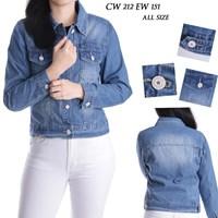 Jual jaket jeans CW 212 EW 151 ( ALL SIZE)