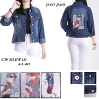 Jual Jaket Jeans CW 212 EW 153 ( all size)