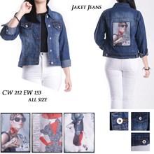 Jaket Jeans CW 212 EW 153 ( all size)