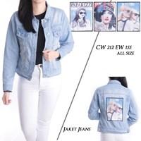 Jual jaket jeans CW 212 EW 155 ( all size )