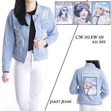 jaket jeans CW 212 EW 155 ( all size )