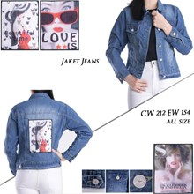 Jaket Jeans CW 212 EW 154 ( ALL SIZE )