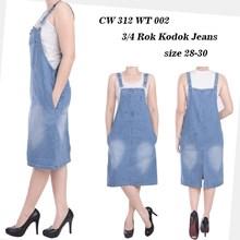 rok kodok jeans CW 312 WT 002 ( SIZE 28-30)