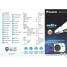 AC Multi S Daikin 2MKC30QVM  0.5 dan 0.5 PK Inverter R32