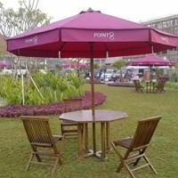 Tenda Payung Jati warna Ungu