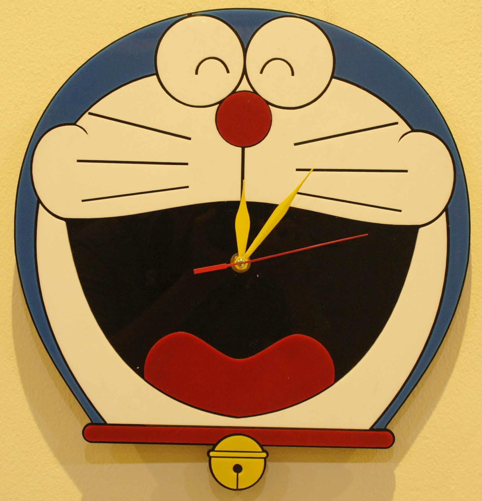 Jual Jam Dinding Doraemon Harga Murah Bogor Oleh Pt Mamoru Kayu