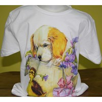 Jual Tshirt Youth White Character 5