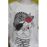 Jual Tshirt Youth White Character 6