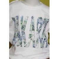 Jual Tshirt Youth White Abstrak 5