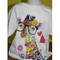 Jual Tshirt Youth White Character 7