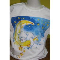 Jual Tshirt Youth White Character 13