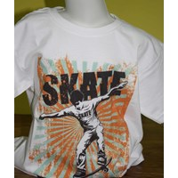 Jual Tshirt Youth White Character 15