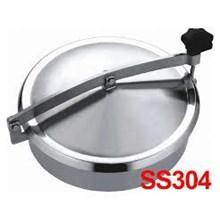 Stainless Stell Manhole Sanitary tutup tangki 304 & 316l