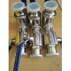 Ball valve sanitary stainless steel 1