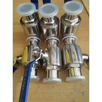 Ball valve sanitary stainless steel