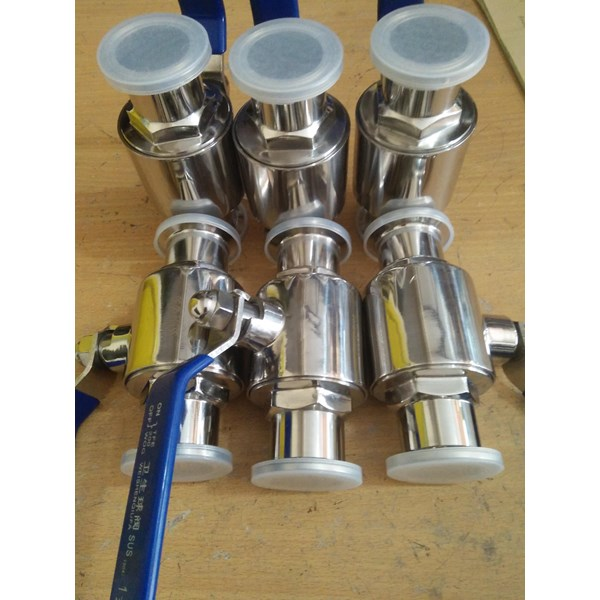 Ball valve sanitary stainless steel