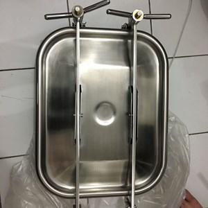 Dari Manhole sanitary stainless persegi kotak square valve 1