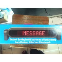 Jual Running Text Moving Sign 2
