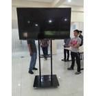 Bracket TV Standing Besi 2 Tiang 3