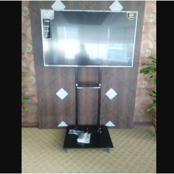 Bracket TV Standing Besi 2 Tiang
