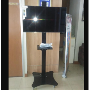 Braket TV Standing Kupu Kupu 1 Tiang
