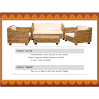 Sell Abaca Living Set KD With Cushion